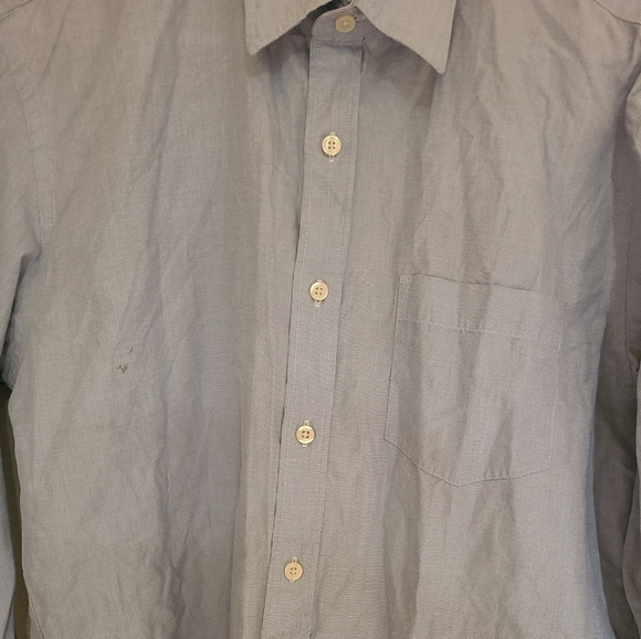 J Crew buttondown shirt LS, gently used Large